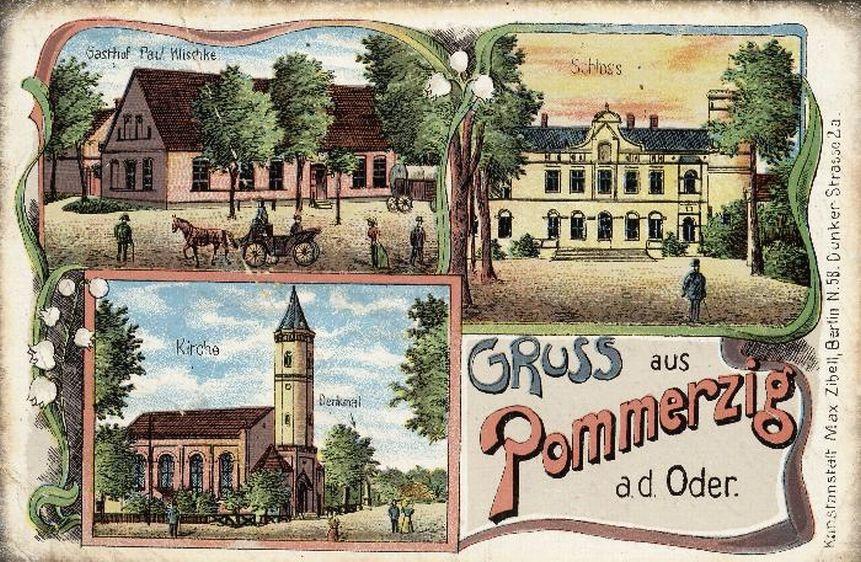 Pocztówka z Pomorska