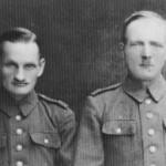 Pierwszy po lewej stronie Julian Szatiłło, Ojciec Pani Haliny Paszkowskiej