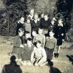 Zdzisław Kociemba ze swoimi uczniami