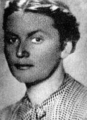 Krystyna Krahelska (źródło zdjęcia Wikipedia)