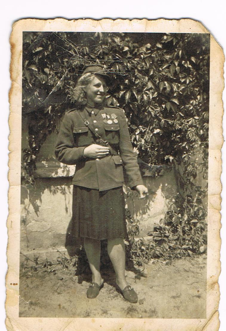 Florentyna Juretko w młodości