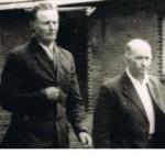 Henryk Bytniewski (po prawej) z Bronisławem Żygadło