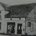 """""""Dom towarowy"""" Richarda Englera w Groß-Blumberg."""