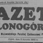 W prasie o naszej okolicy – 1954 rok