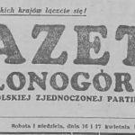 W prasie o naszej okolicy – 1956, 1957