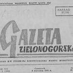 W prasie o naszej okolicy – 1958 rok